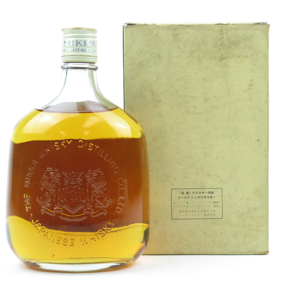 Nikka Gold and Gold / Old Style