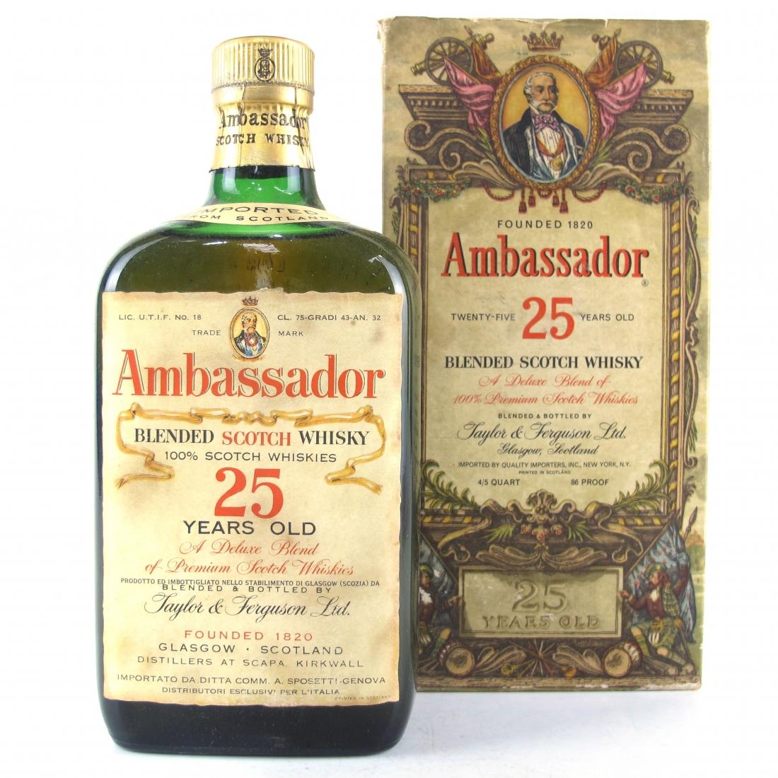 Ambassador 25 Year Old 1960s / Sposetti Import