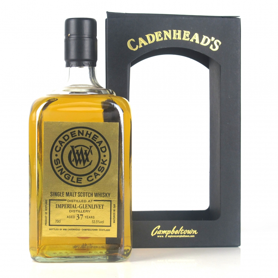 Imperial 1977 Cadenhead's 37 Year Old