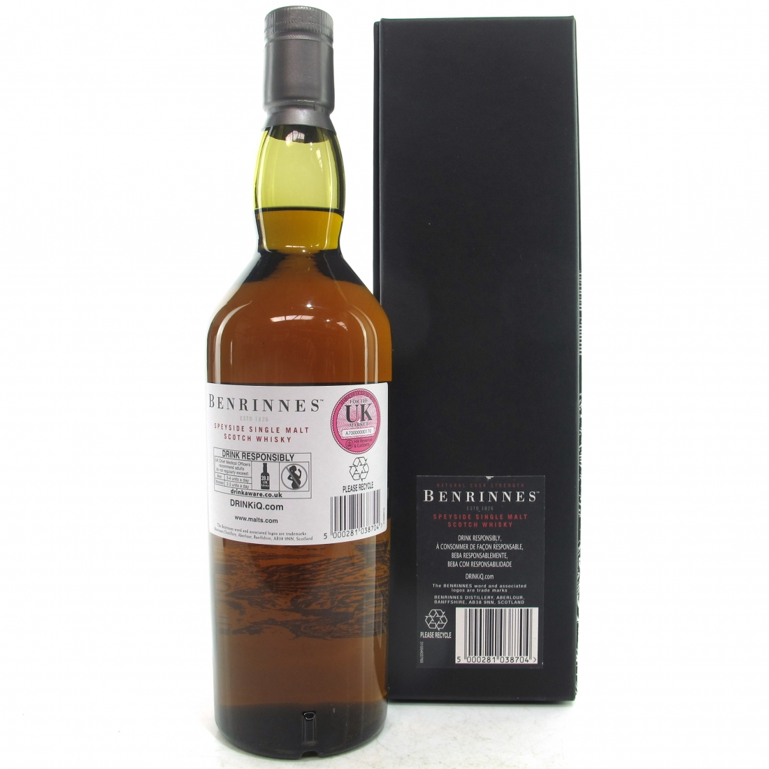 Benrinnes 1992 21 Year Old Cask Strength