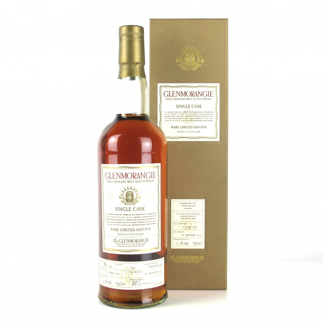 Glenmorangie 1993 Swamp Oak 12 Year Old / Limited Edition 75cl