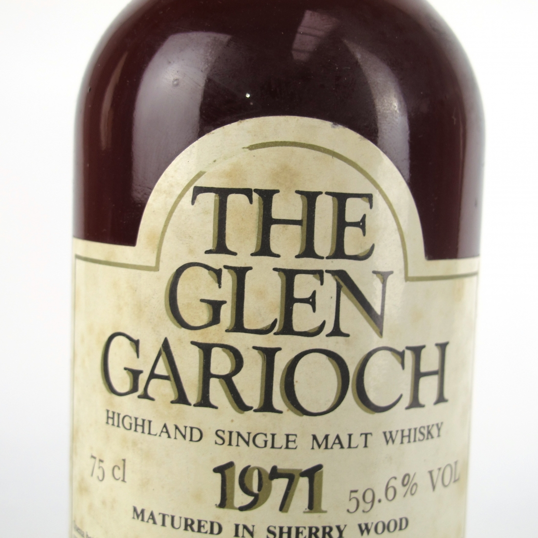 Glen Garioch 1971 Samaroli Sherry Wood Full Proof
