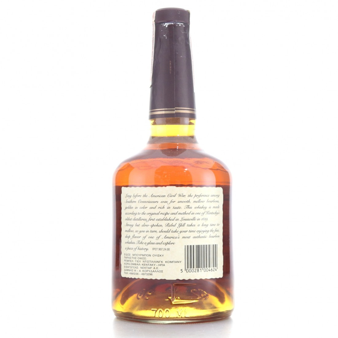 Rebel Yell Kentucky Straight Bourbon 1990s / Stitzel-Weller