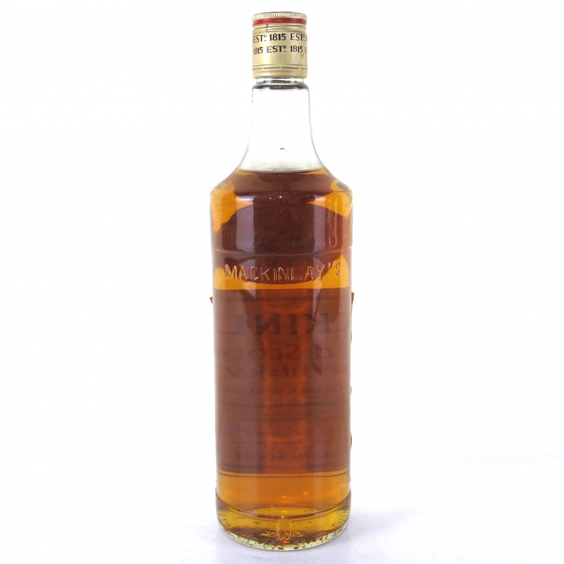 Mackinlay's Old Scotch Whisky 1980s
