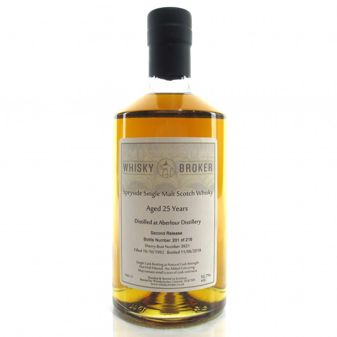 Aberlour 1992 Whisky Broker 25 Year Old