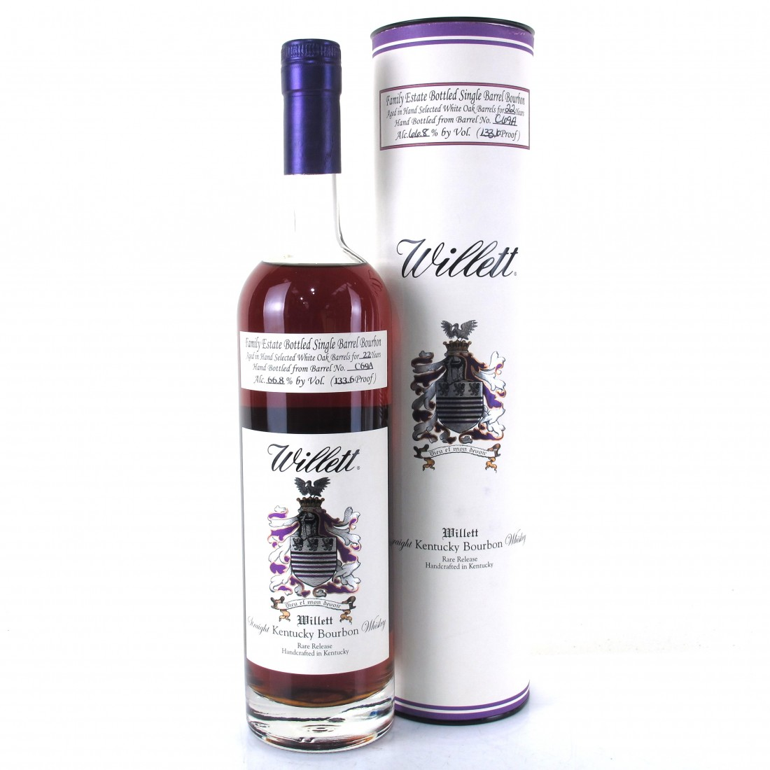 Willett Family Estate 22 Year Old Single Barrel Bourbon #C69A