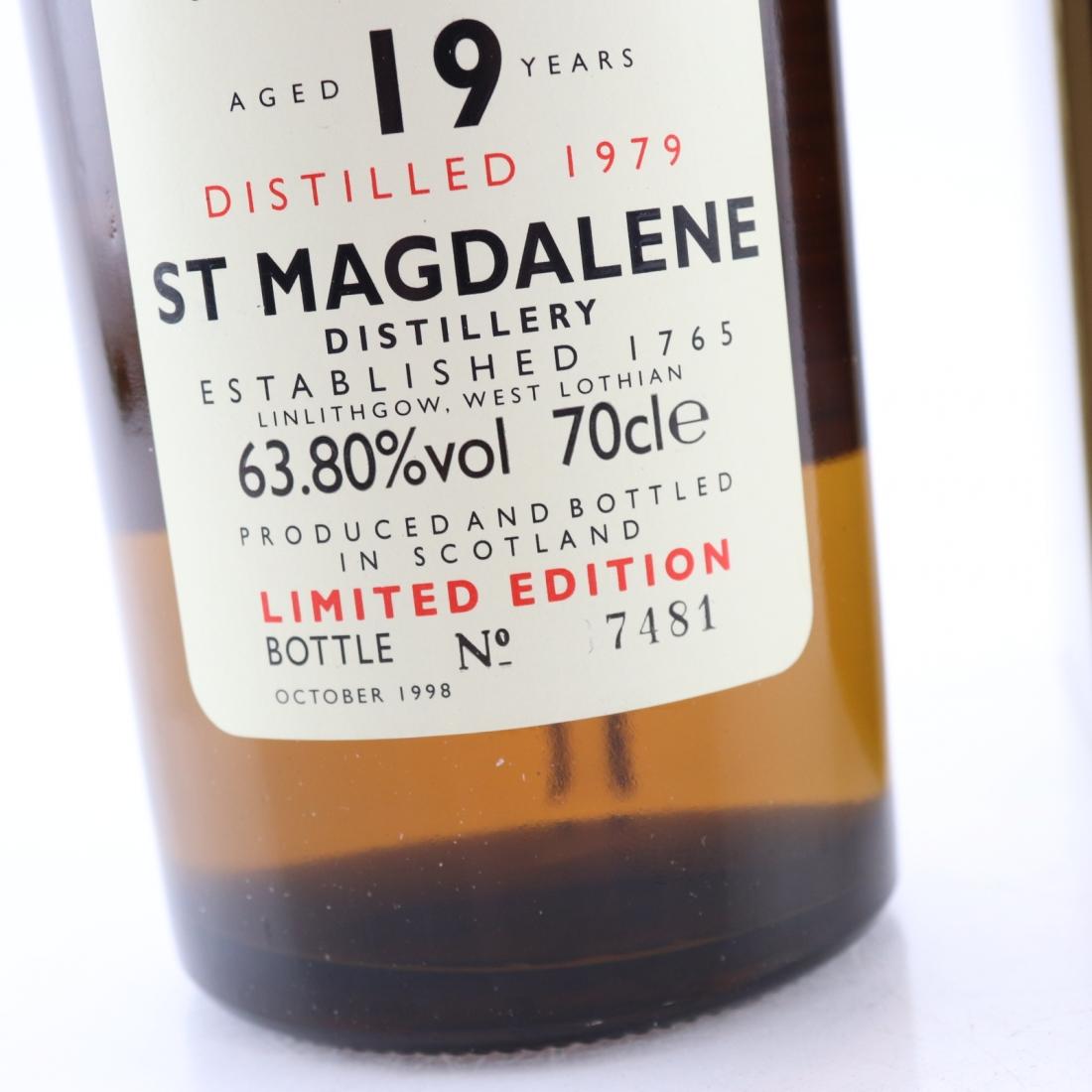 St Magdalene 1979 Rare Malt 19 Year Old / 63.80%