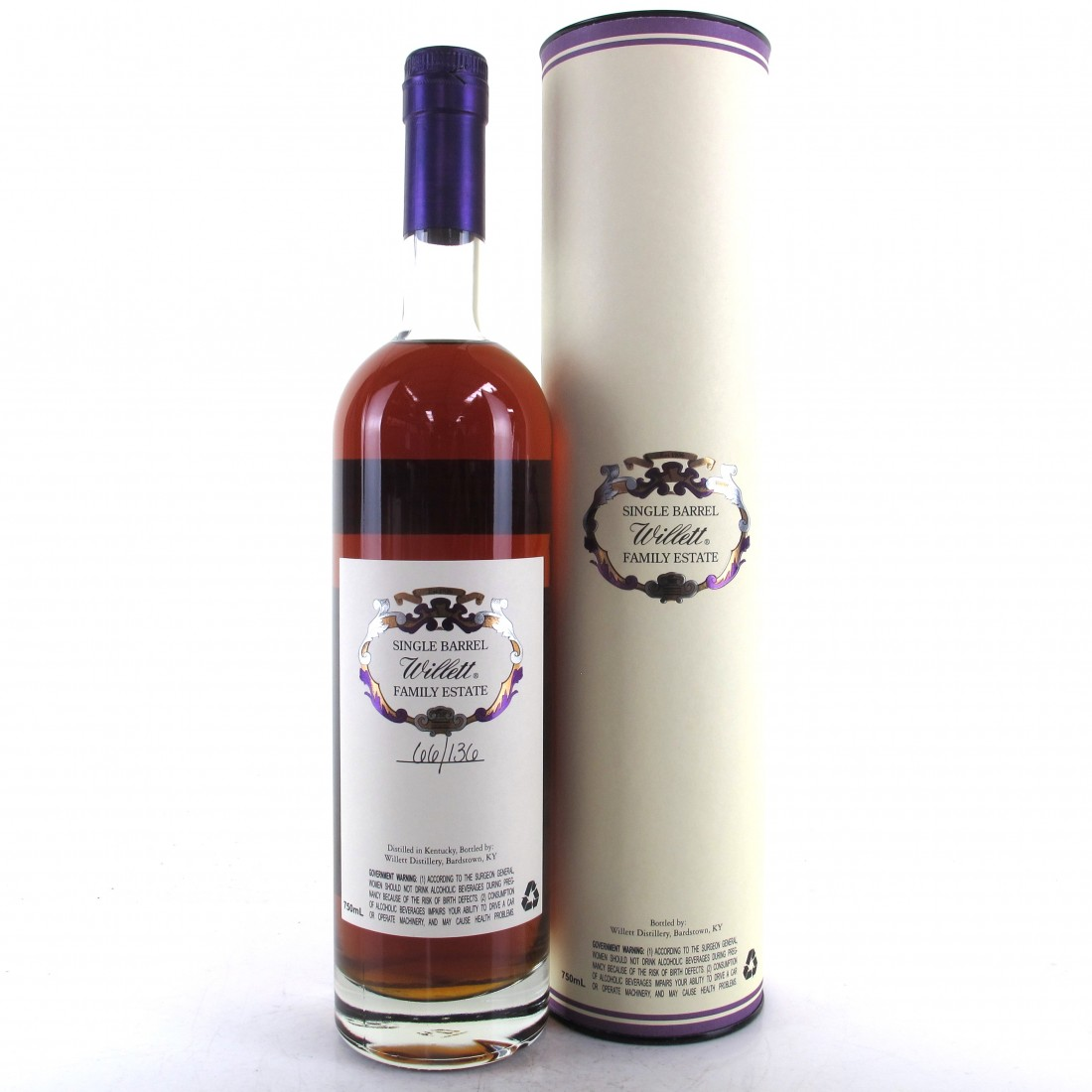 Willett Family Estate 13 Year Old Single Barrel Bourbon #1335