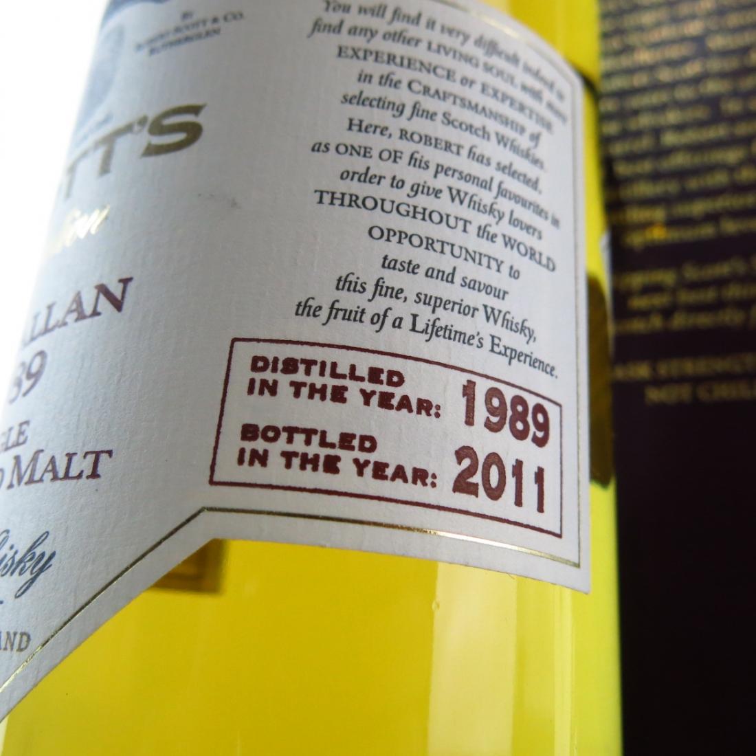 Macallan 1989 Scott's Selection