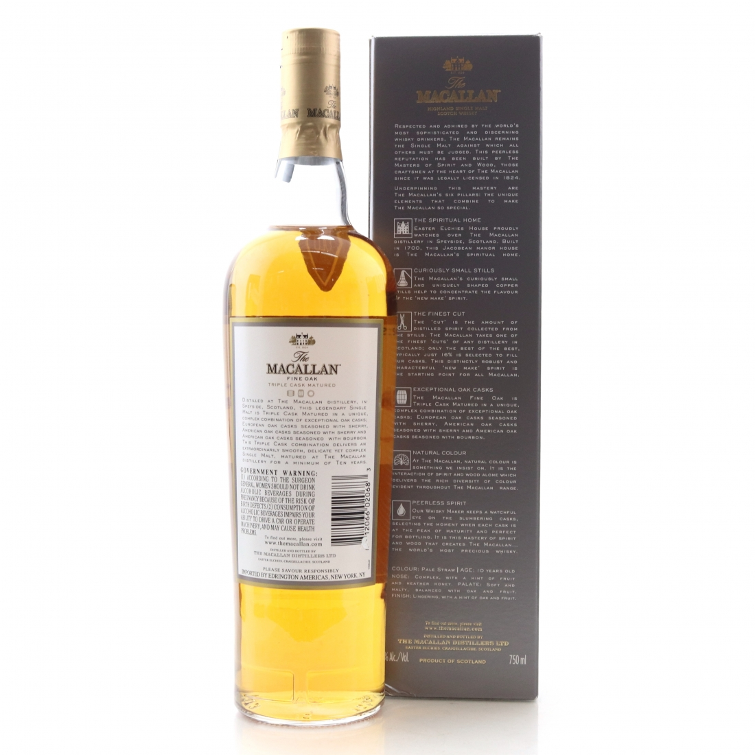 Macallan 10 Year Old Fine Oak / 75cl US Import