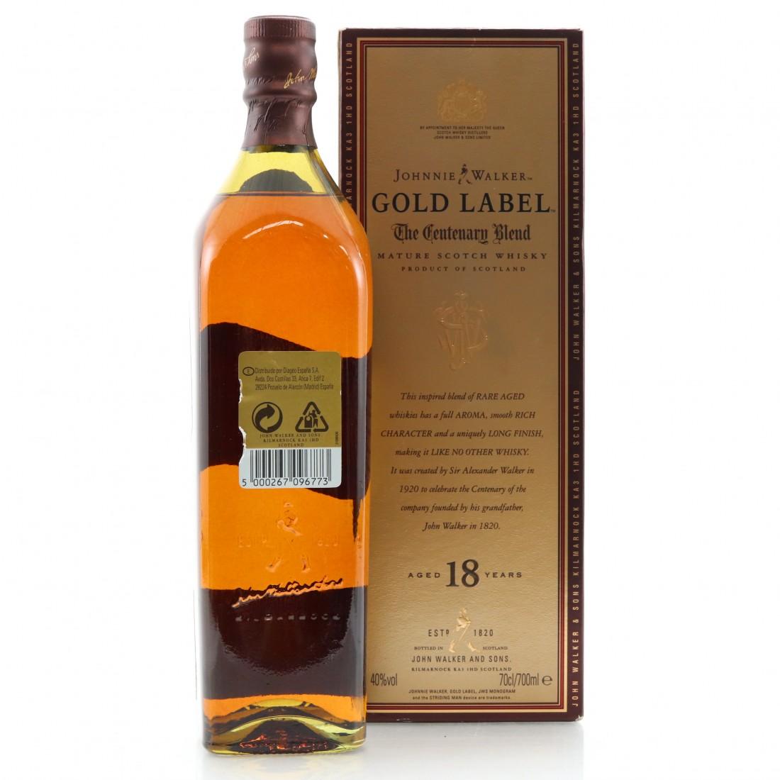 Johnnie Walker Gold Label 18 Year OldCentenary Blend