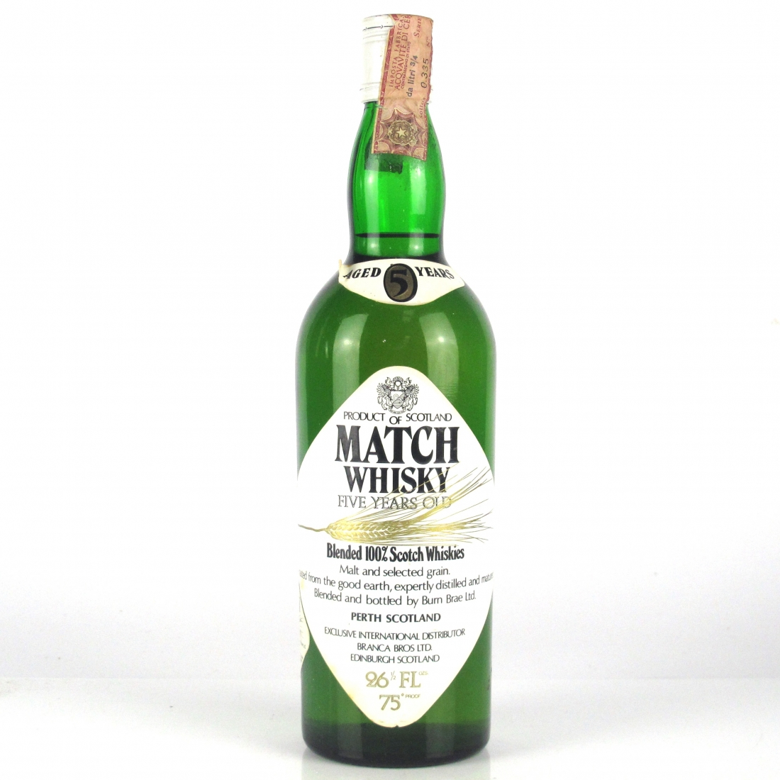 Match Whisky 5 Year Old 1970s