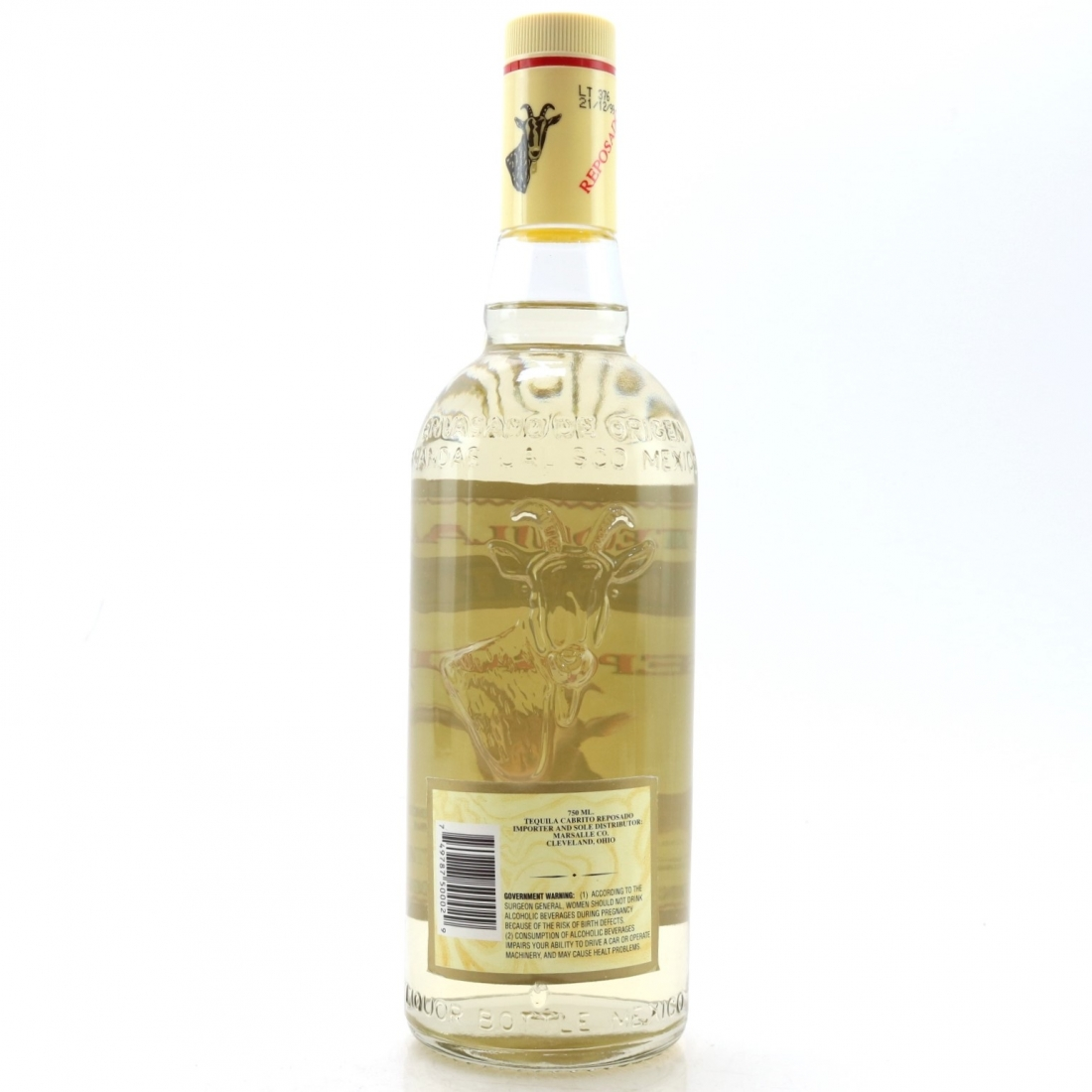Cabrito Tequila US Import 75cl