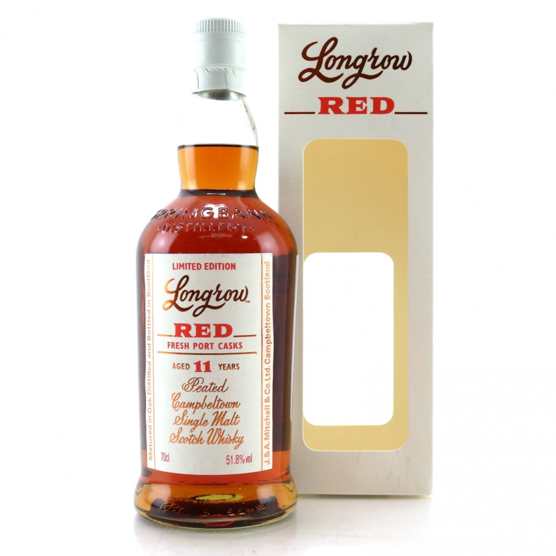 Longrow 'Red' 11 Year Old Port Cask