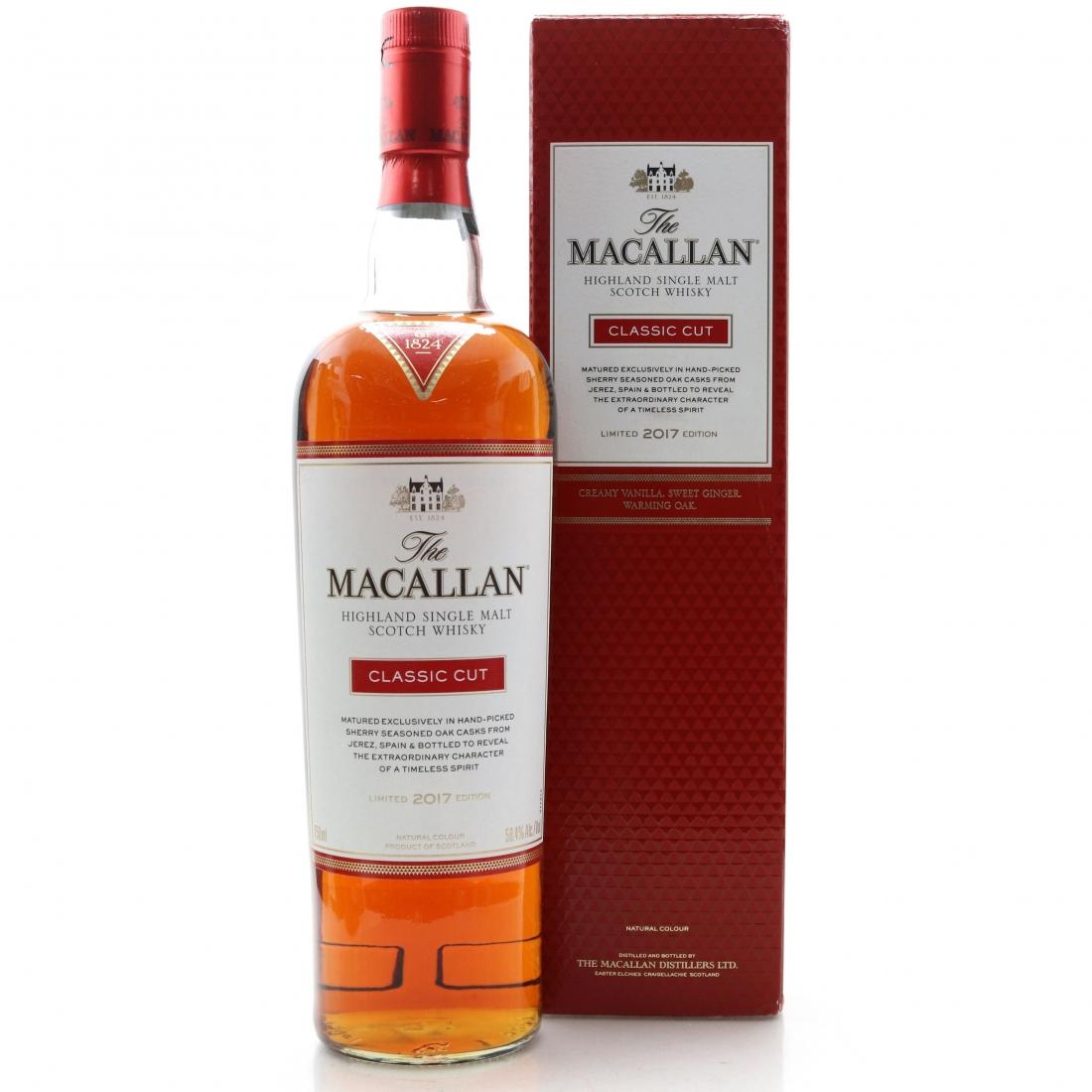 Macallan Classic Cut 2017 Release 75cl / US Import