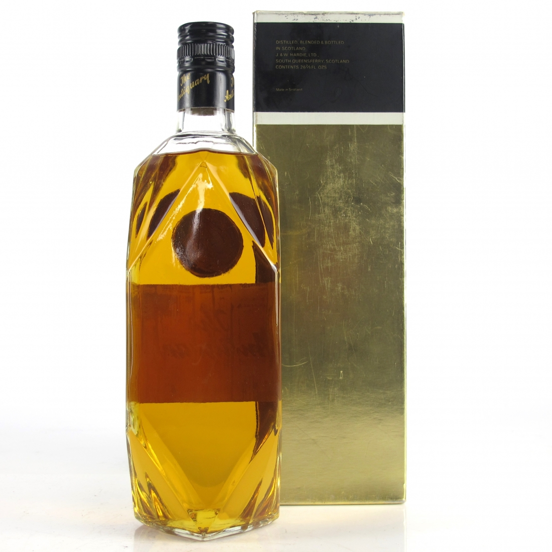 Antiquary De Luxe Old Scotch Whisky 1970s
