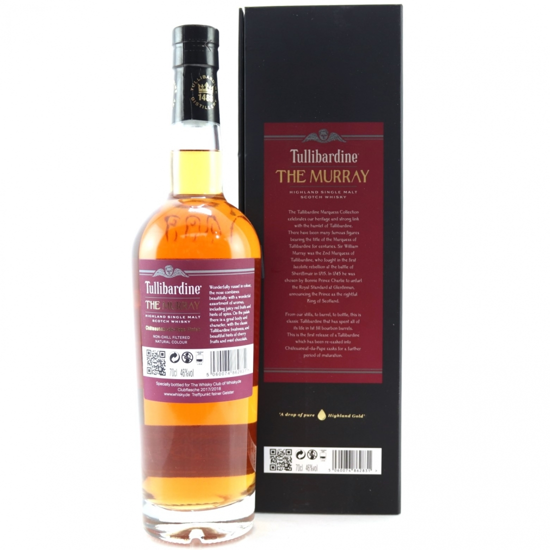 Tullibardine 2005 The Murray Cask Strength / The Marquess Collection