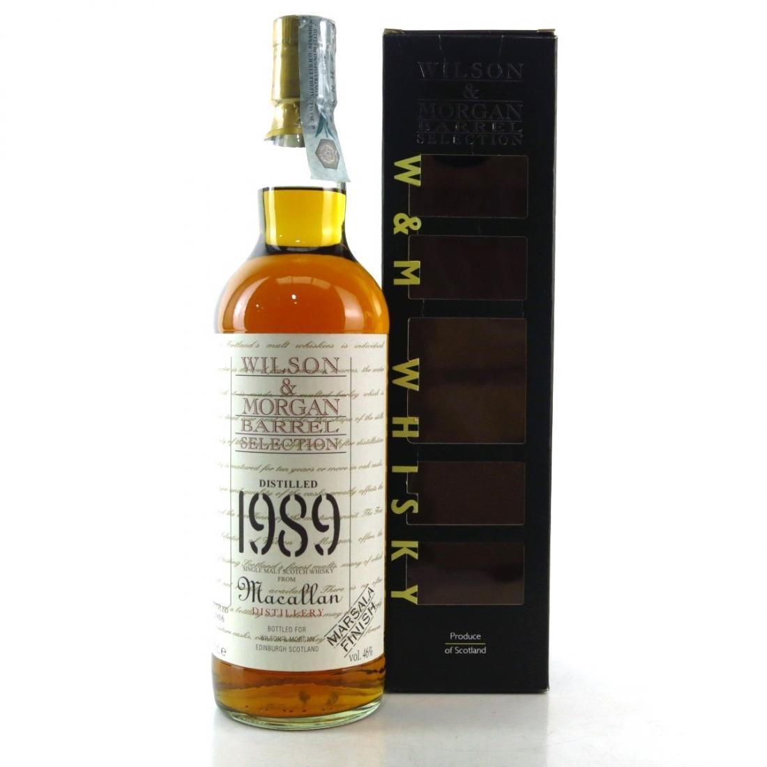 Macallan 1989 Wilson and Morgan / Marsala Finish
