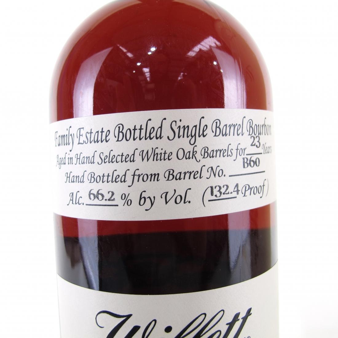Willett Family Estate 23 Year Old Single Barrel Bourbon #B60