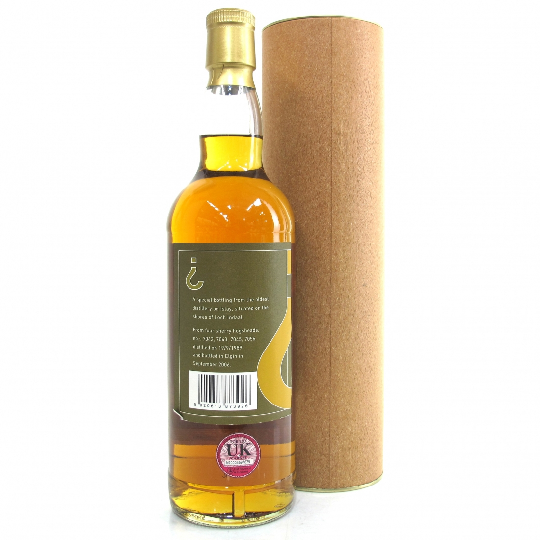 Bowmore 1989 Gordon and MacPhail 18 Year Old / Secret Stills No. 4.3