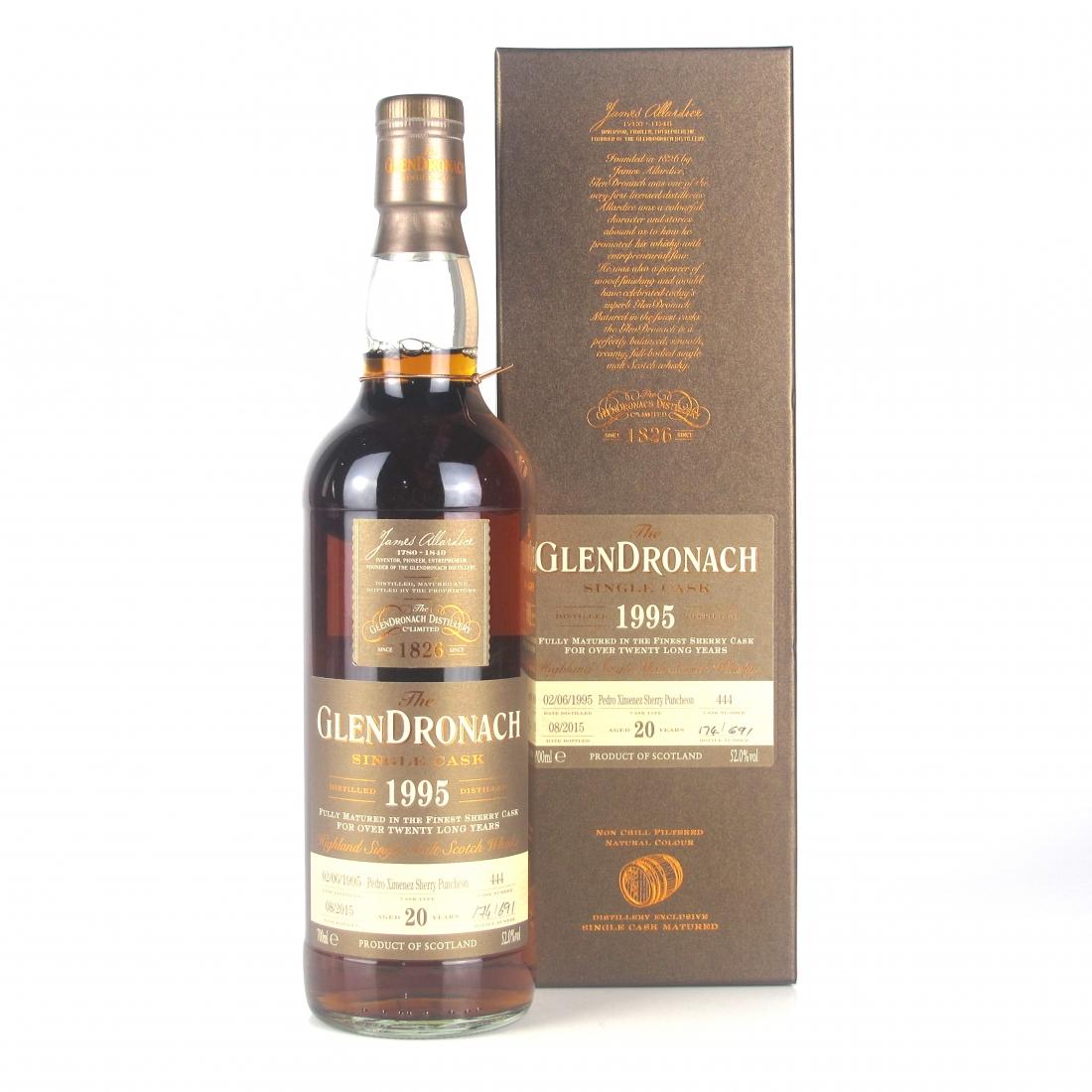 Glendronach 1995 Single Cask 20 Year Old #444