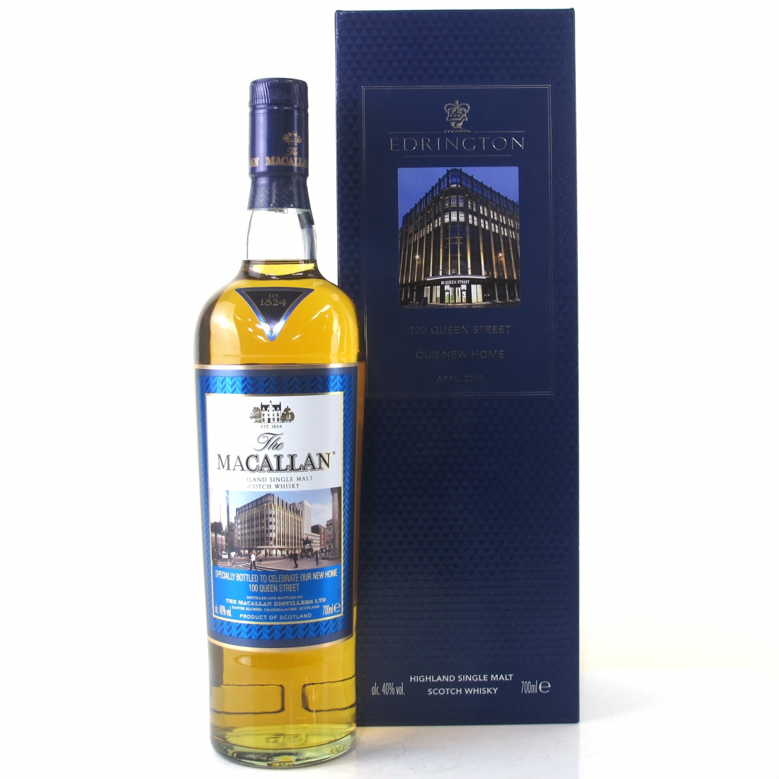 Macallan / Edrington 100 Queen Street