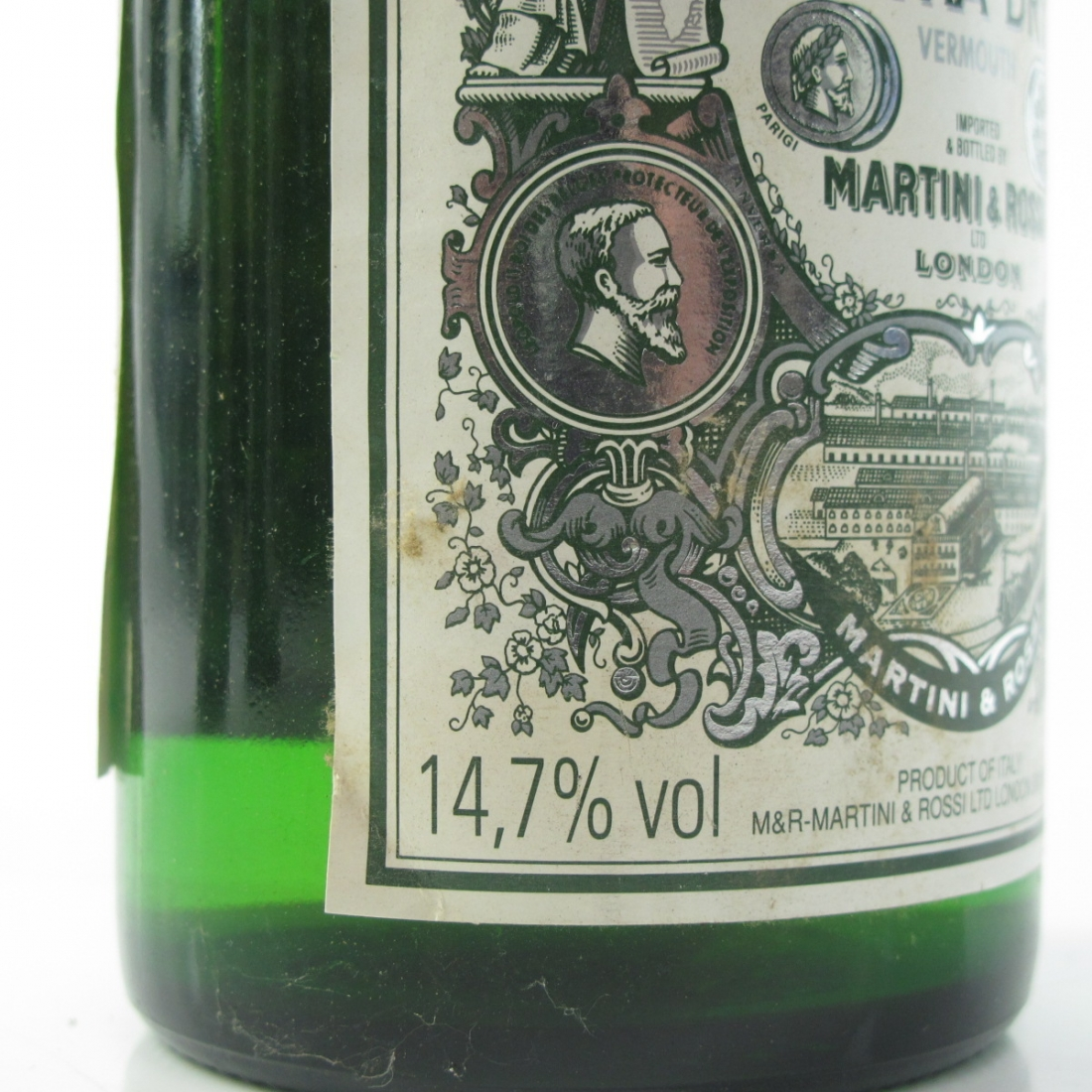 Martini Extra Dry 1980s 4 x 75cl