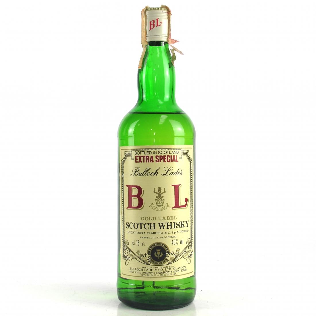 Bulloch Lade's Gold Label 1980's / Claretta Import