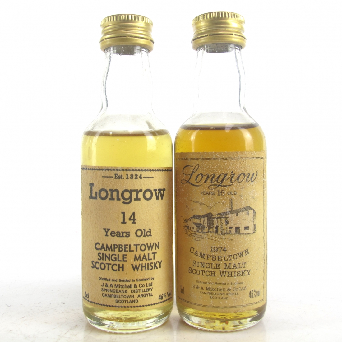 Longrow Miniatures Selection 2 x 5cl