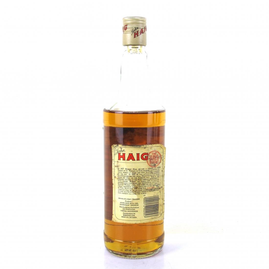 Haig Fine Old Scotch Whisky 1980s
