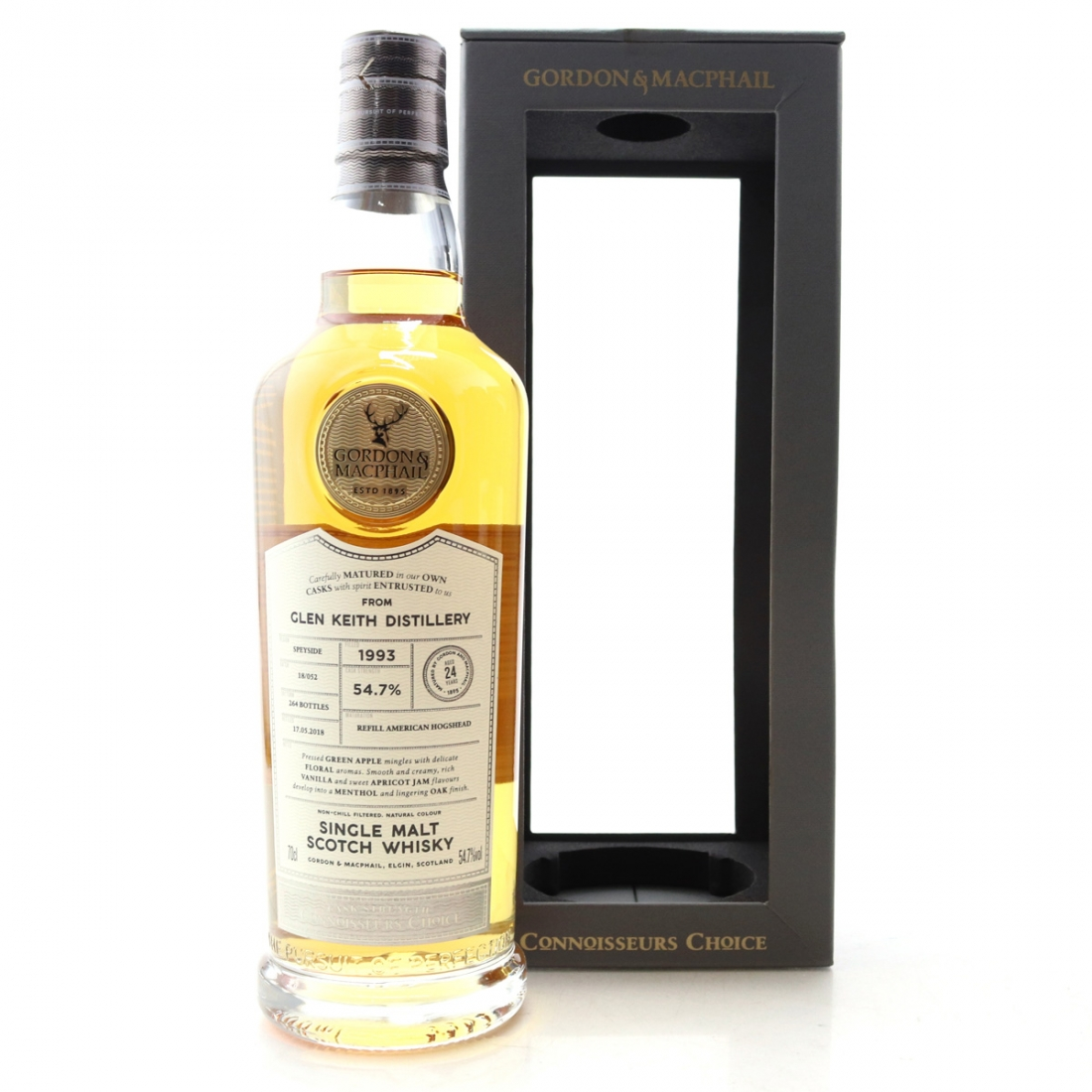 Glen Keith 1993 Gordon and MacPhail 24 Year Old Batch #18/052