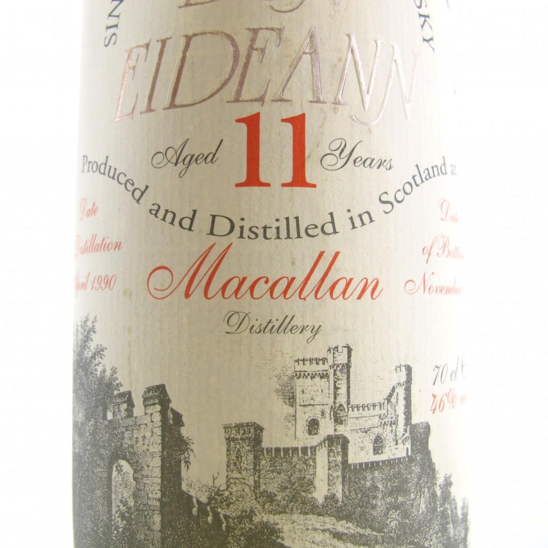 Macallan 1990 Dun Eideann 11 Year Old