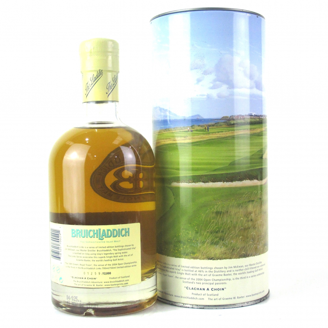 Bruichladdich Links 14 Year Old / 18th Green, Royal Troon
