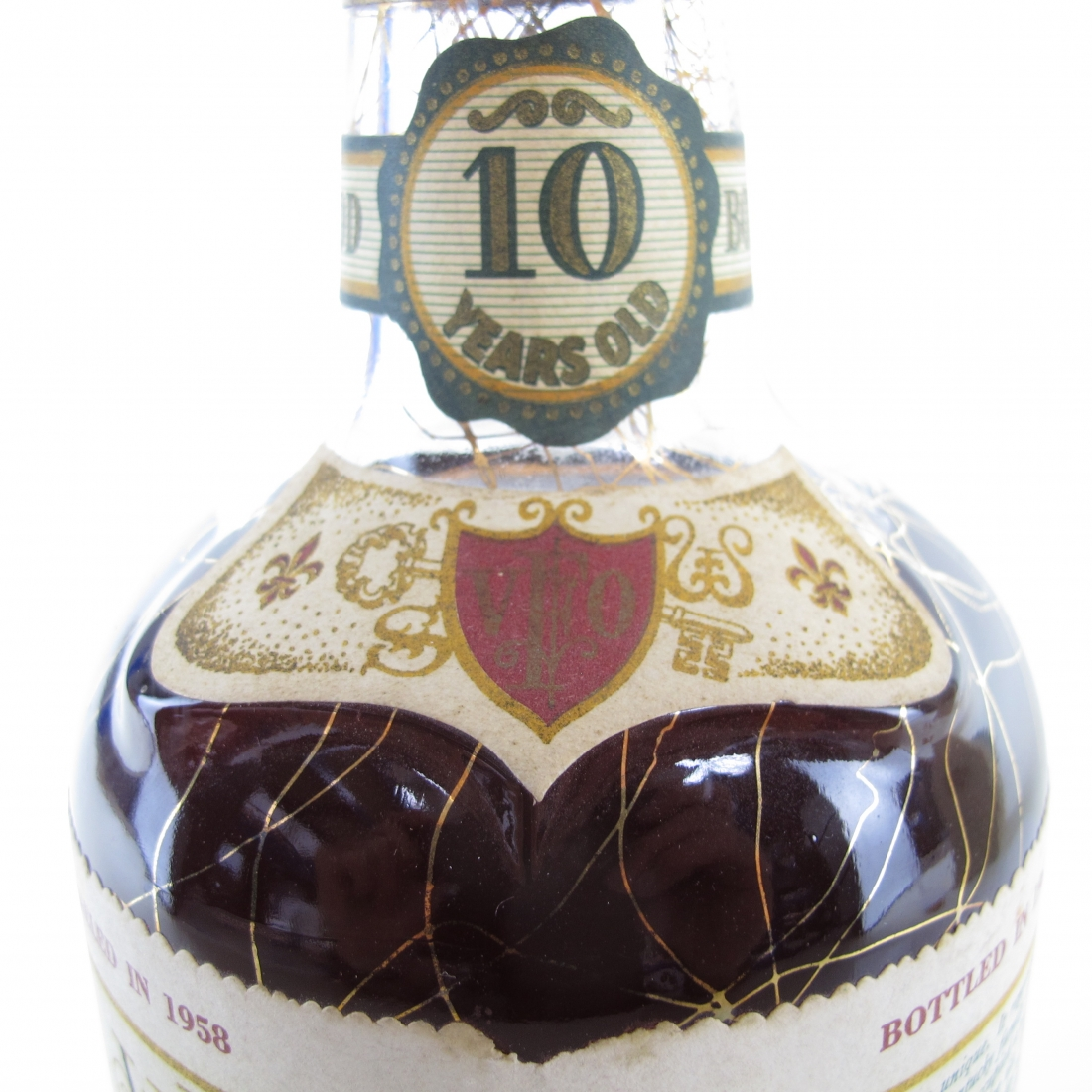 Very Extra Old Fitzgerald 1958 Bonded 10 Year Old 100 Proof / Stitzel-Weller