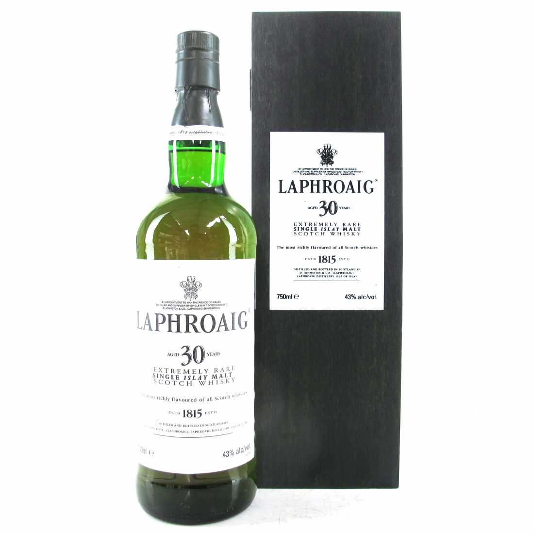 Laphroaig 30 Year Old 75cl / US Import