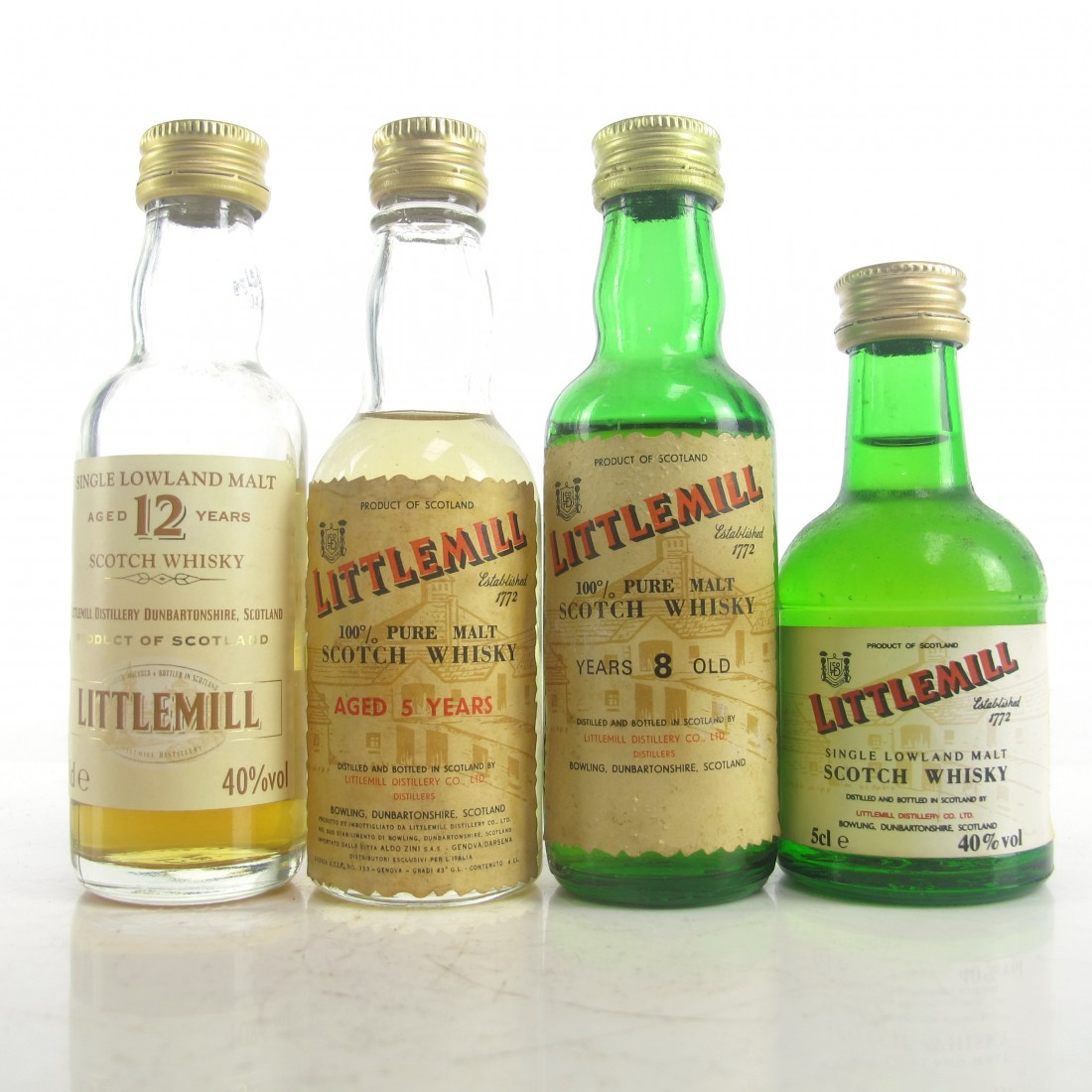 Littlemill Miniatures Selection x 4