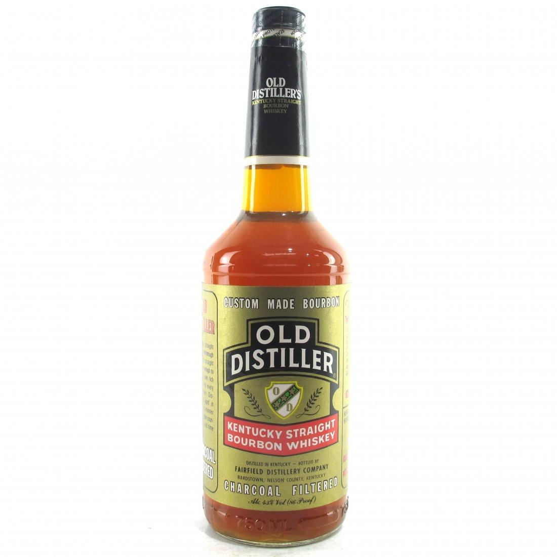 Old Distiller Kentucky Straight Bourbon 1990s