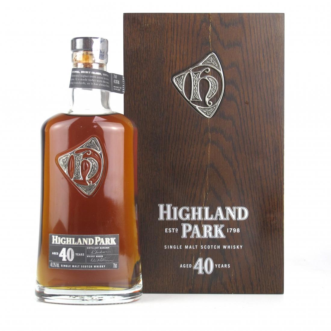Highland Park 40 Year Old