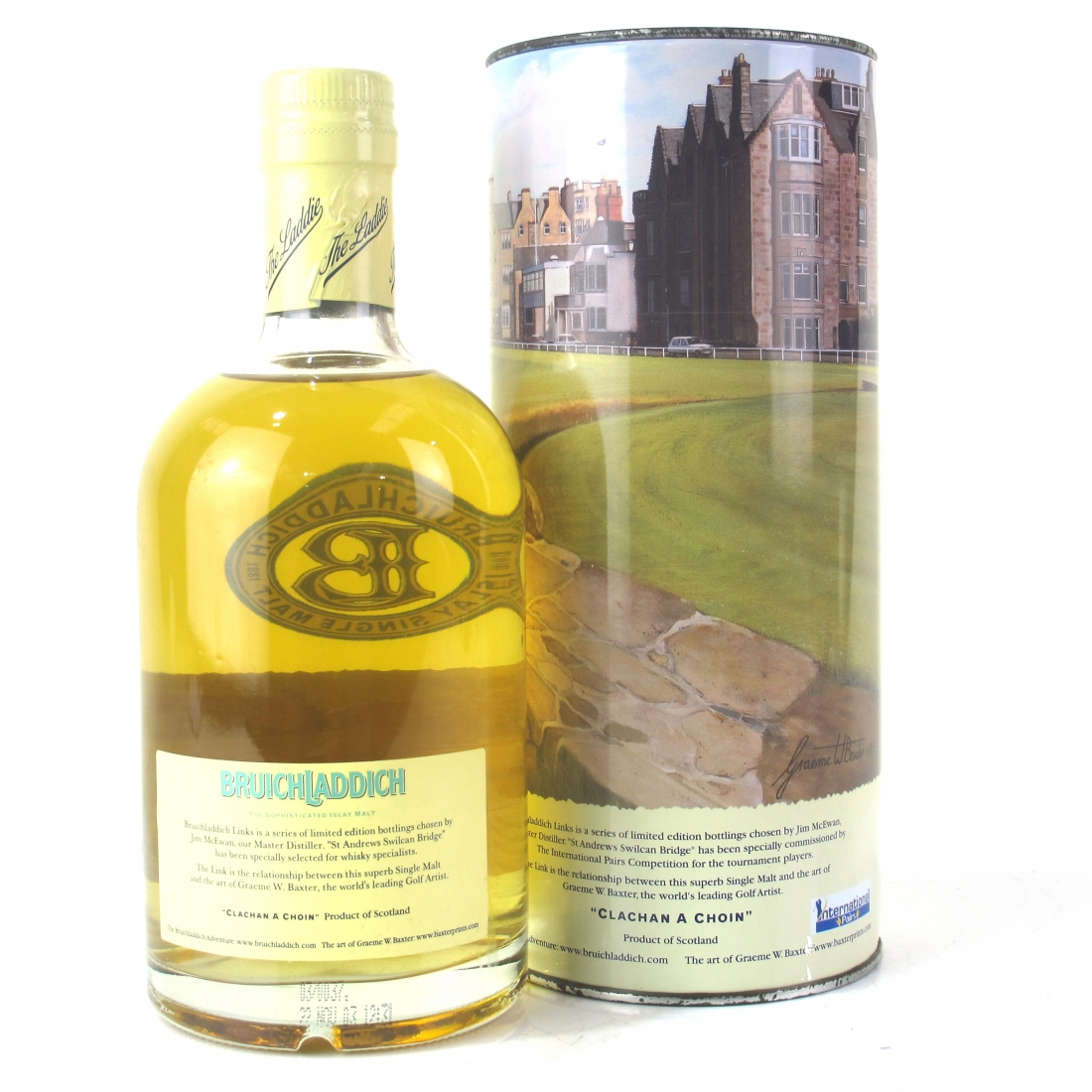 Bruichladdich Links St Andrews Swilican Bridge 50cl