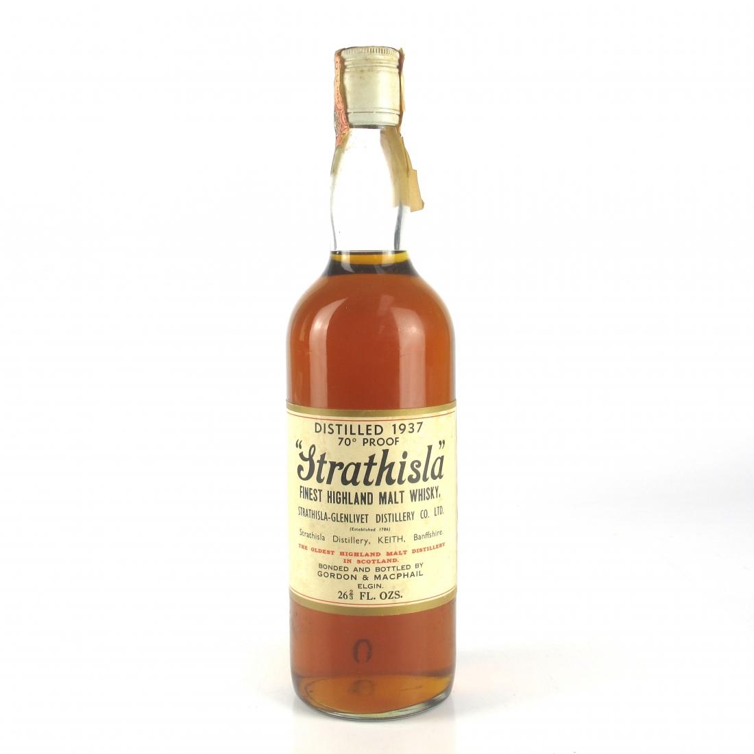 Strathisla 1937 Gordon and MacPhail 70 Proof