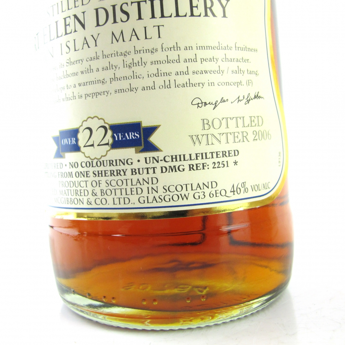 Port Ellen 1983 Douglas McGibbon 22 Year Old