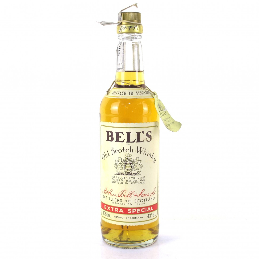 Bell's Old Scotch Whisky 1970s / Portuguese Import