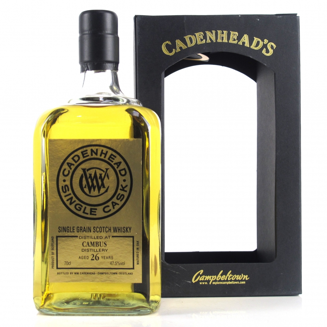 Cambus 1988 Cadenhead's 26 Year Old