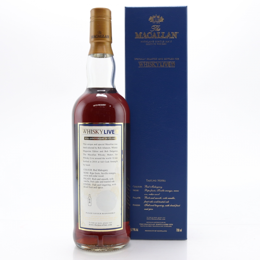 Macallan 10 Year Old / Whisky Live 10th Anniversary