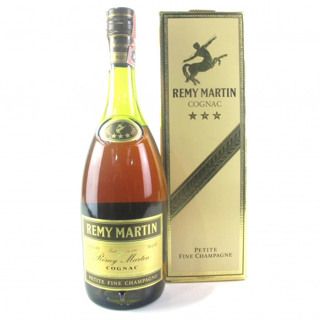 Remy Martin Three Star Petite Fine Champagne Cognac