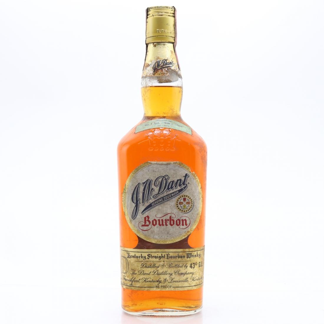 J.W. Dant Kentucky Straight Bourbon 1970s