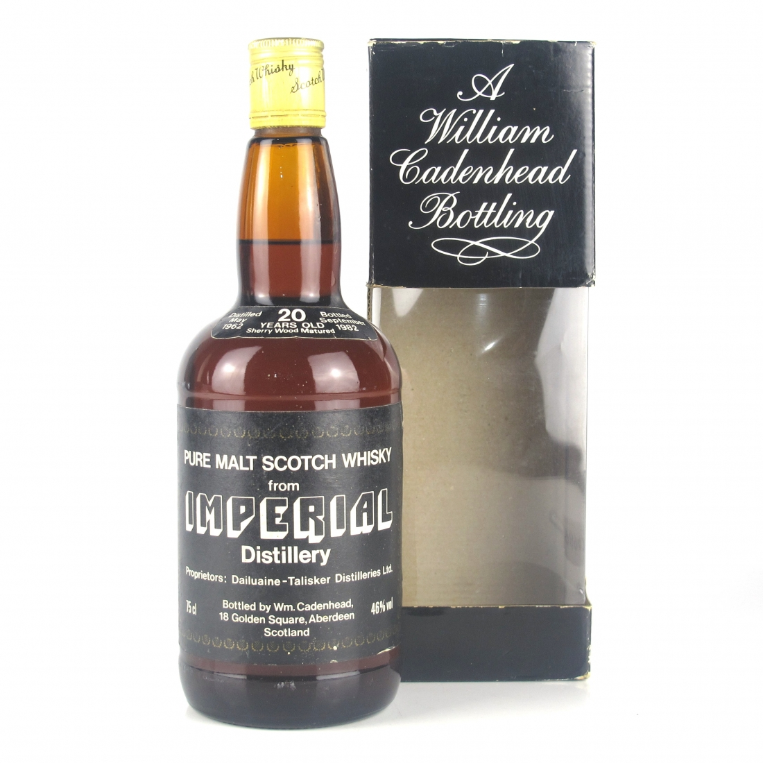 Imperial 1962 Cadenhead's 20 Year Old / Sherry Wood Matured