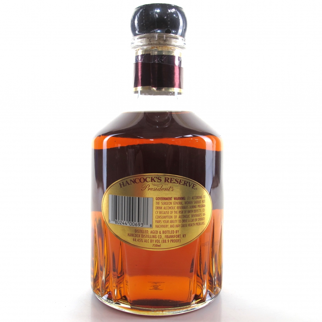 Hancock's President's Reserve Single Barrel Bourbon