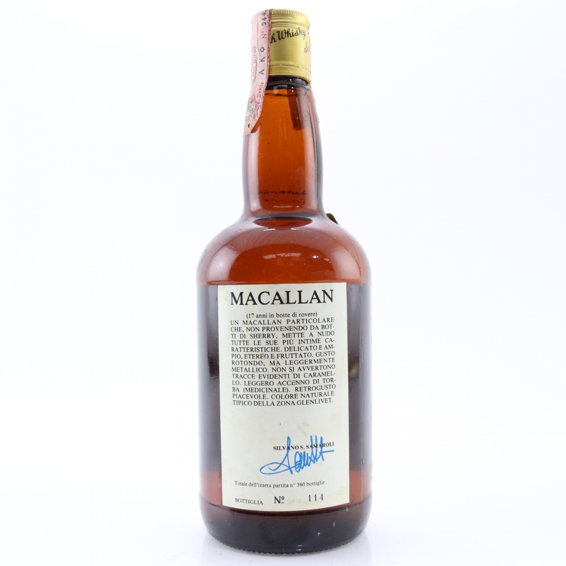 Macallan 1962 Samaroli 17 Year Old / Cadenhead's 1979