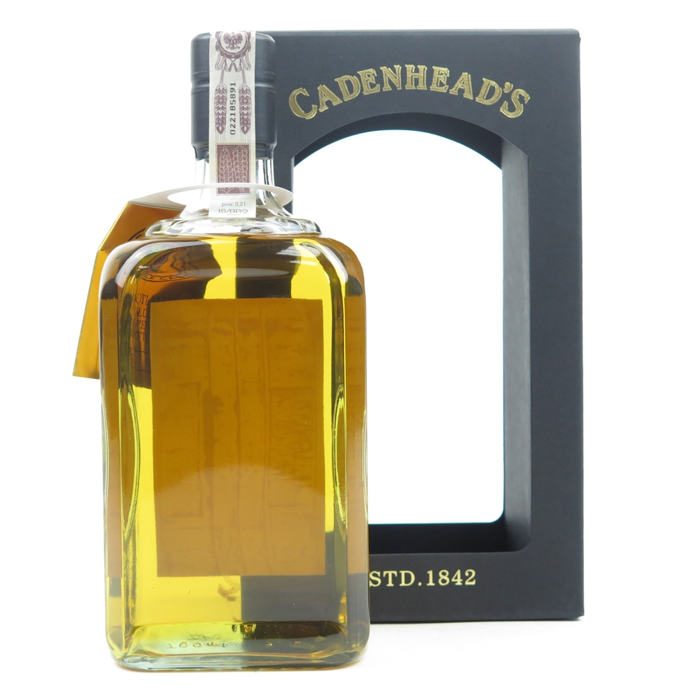*INFO ON TAG Caledonian 1987 Cadenhead's 28 Year Old